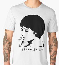 Vivre sa vie Men's Premium T-Shirt