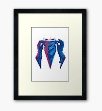 Atomic Assassin Framed Print