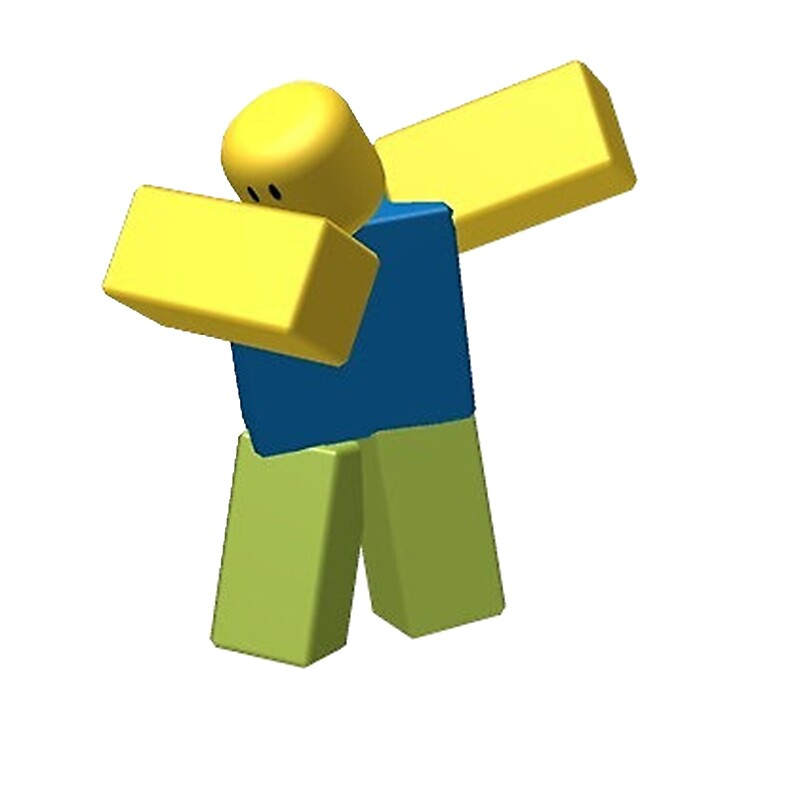 Quot Roblox Dab Quot Posters By Brycice Redbubble