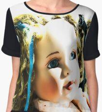doll beauty Women's Chiffon Top