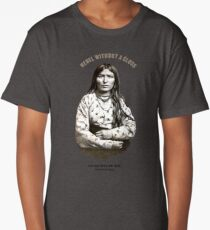 Indian Rebel Woman Long T-Shirt