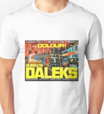 Doctor Who Poster – Doctor Who and the Daleks T-Shirt