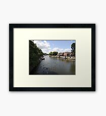 River Avon Viewed From Evesham Framed Print