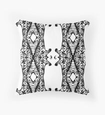 labyrinth of hutongs  Throw Pillow