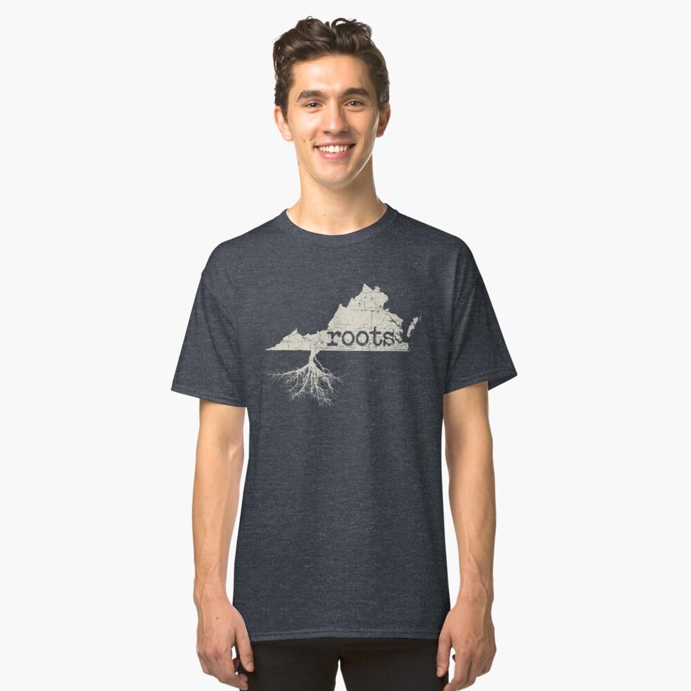 Viriginia Roots Classic T-Shirt Front