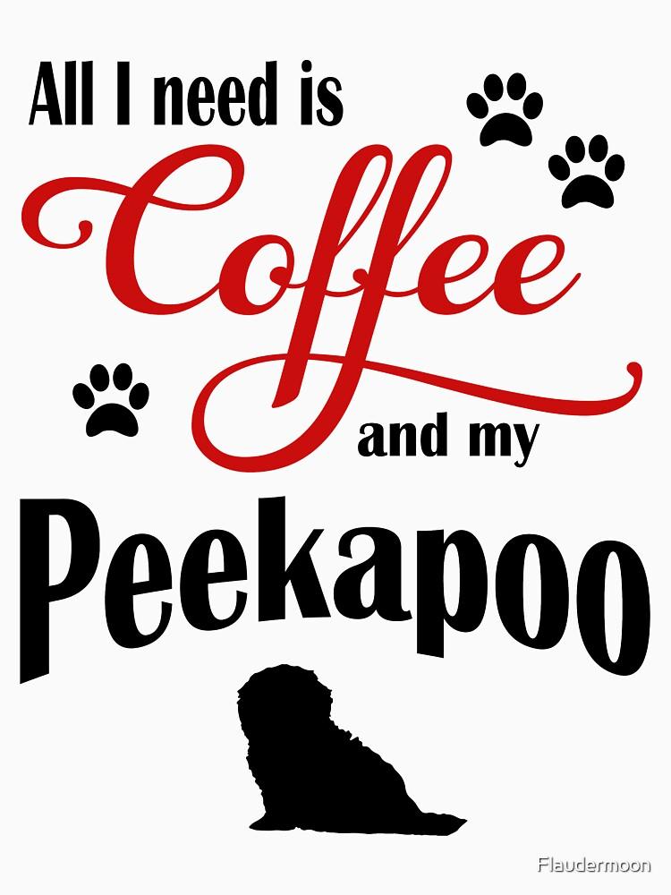 Coffee and my Peekapoo by Flaudermoon