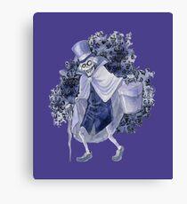 Haunted Mansion Hatbox Ghost Canvas Print