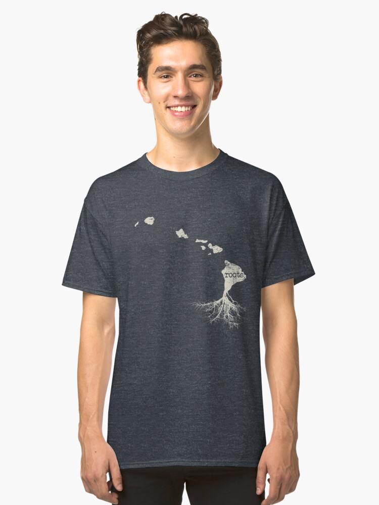 Hawaii Roots Classic T-Shirt Front