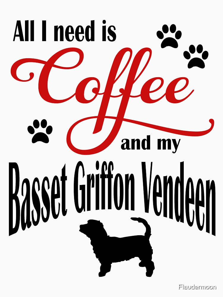 Coffee and my Petit Basset Griffon Vendeen by Flaudermoon