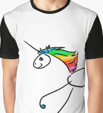 Rainbow Unicorn Graphic T-Shirt