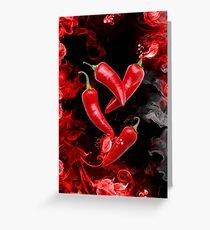 RED HOT CHILI PEPPERS  Greeting Card