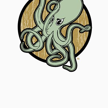 Angry Octopus by kilroy