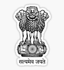 State Emblem of India Sticker