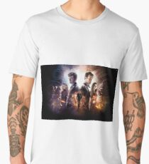 Doctor Who – Time of the Doctor Poster Men's Premium T-Shirt