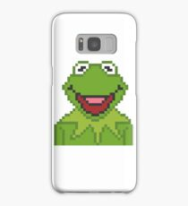 Kermit The Muppets Pixel Character Samsung Galaxy Case/Skin