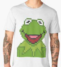 Kermit The Muppets Pixel Character Men's Premium T-Shirt