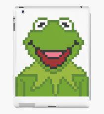 Kermit The Muppets Pixel Character iPad Case/Skin