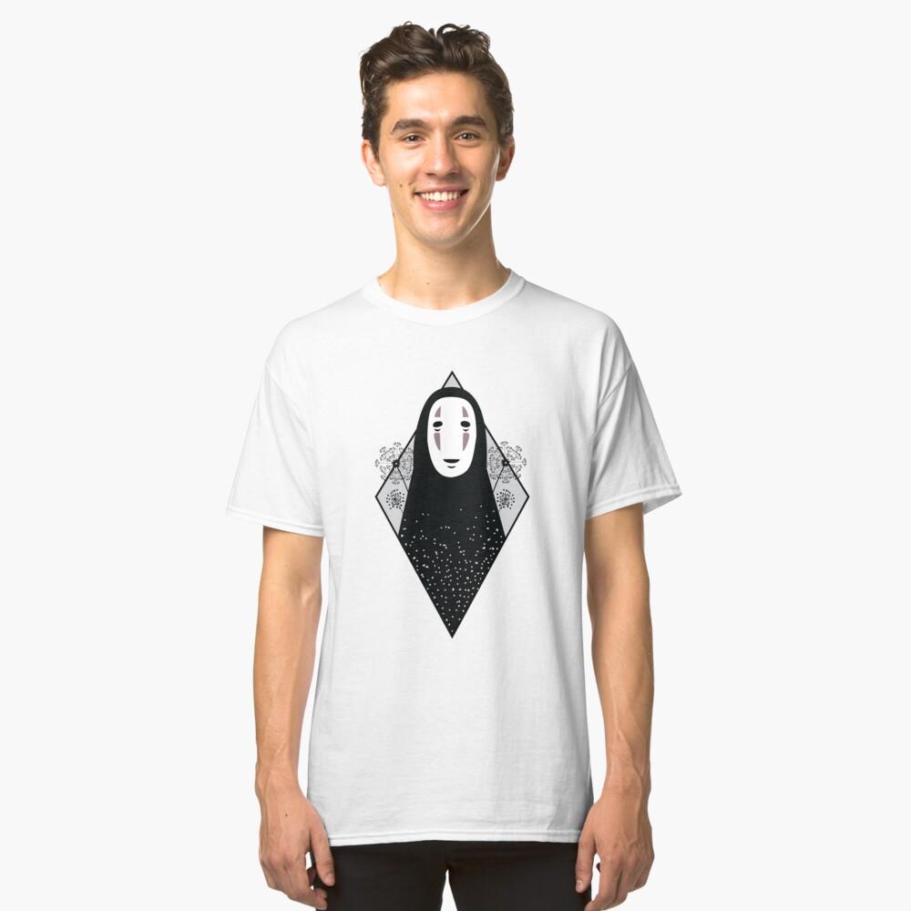 No Face - Spirited Away Hayao Miyazaki tattoo inspired design  Classic T-Shirt Front
