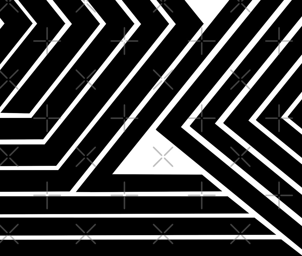 Modern Me Plain Black by mindsgallery