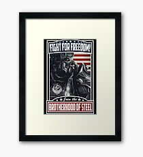Fight For Freedom! BOS Poster Framed Print