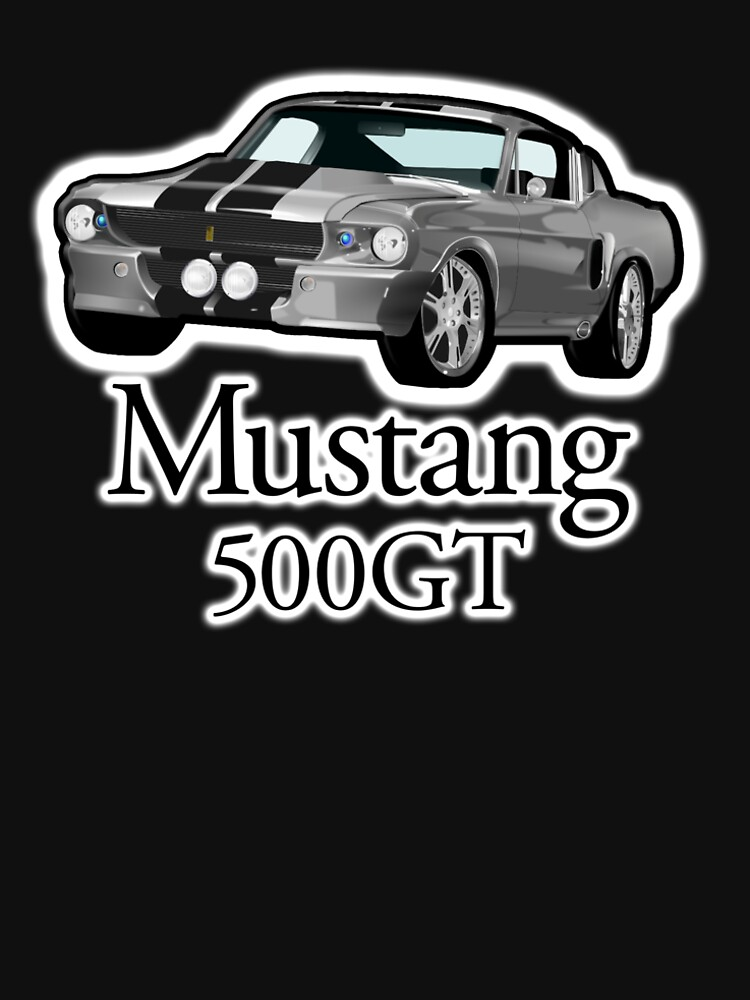 FORD, Mustang 500GT by TOMSREDBUBBLE