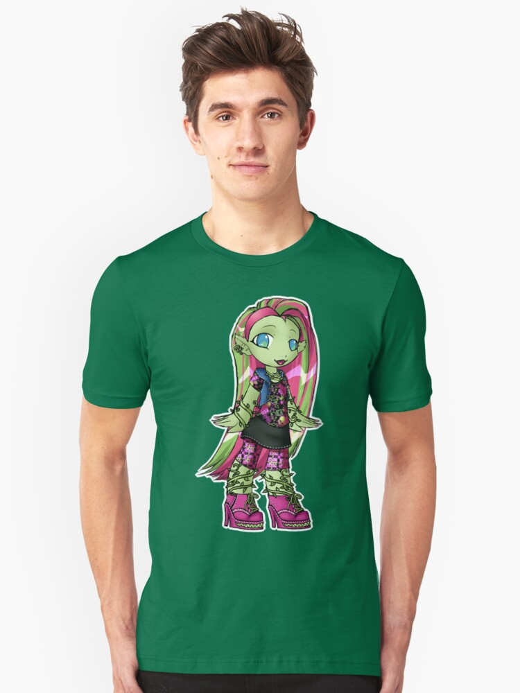 Monster Ghouls: Ivy Green Unisex T-Shirt Front