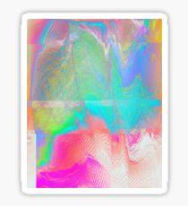 Nous Pneumatic - Glitch Holographic Art Sticker