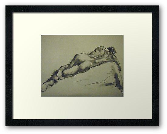David reclining by Troy Wekwerth