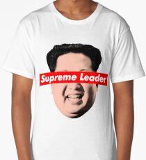 Supreme Leader Un - Kim Jong Un Parody T-Shirt Long T-Shirt