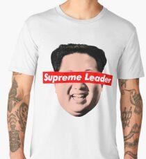Supreme Leader Un - Kim Jong Un Parody T-Shirt Men's Premium T-Shirt