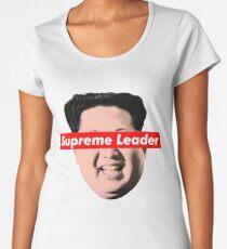 Supreme Leader Un - Kim Jong Un Parody T-Shirt Women's Premium T-Shirt