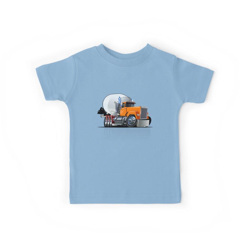 Cartoon Mixer Truck by Mechanick
