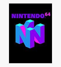 Nintendo 64 (Aesthetic) Photographic Print