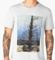 Caspar David Friedrich Oak in Snow Men's Premium T-Shirt