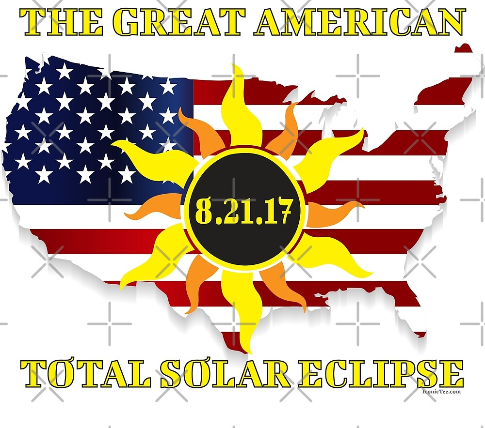 2017 Great American Total Solar Eclipse  by IconicTee
