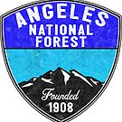 Angeles National Forest California Park Hiking Nature Outdoors Camper by MyHandmadeSigns