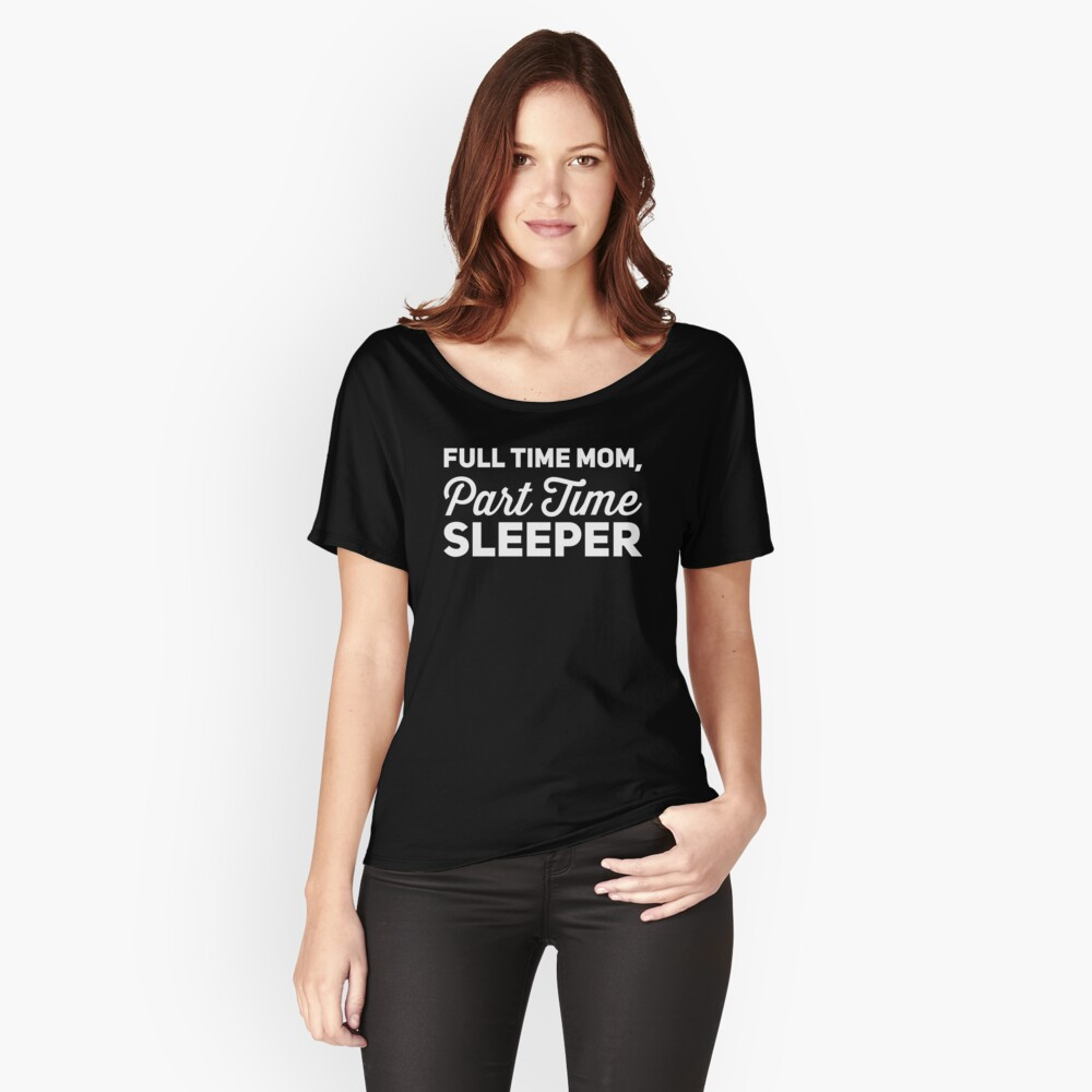 Mom Life T-Shirt Women's Relaxed Fit T-Shirt Front