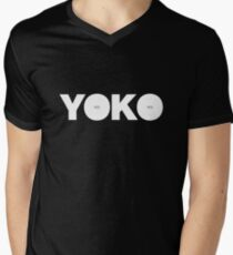 Yoko Ono - Yes Men's V-Neck T-Shirt