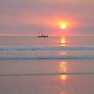 Sunset Sail by Bronwyn Houston