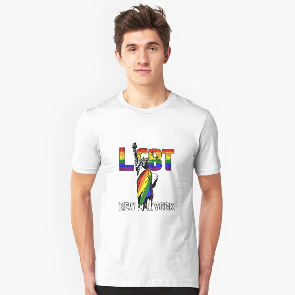 LGBT New York Unisex T-Shirt Front