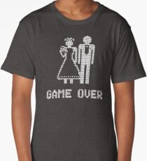 GAME OVER. MARRIED!! Long T-Shirt