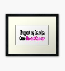 Breast Cancer Framed Print