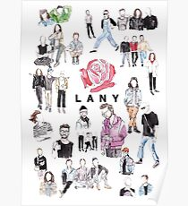 LANY drawings Poster