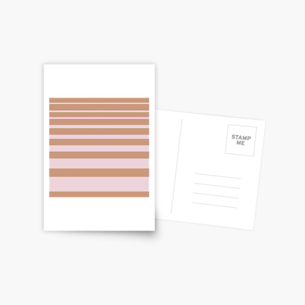 Stripes Postcard