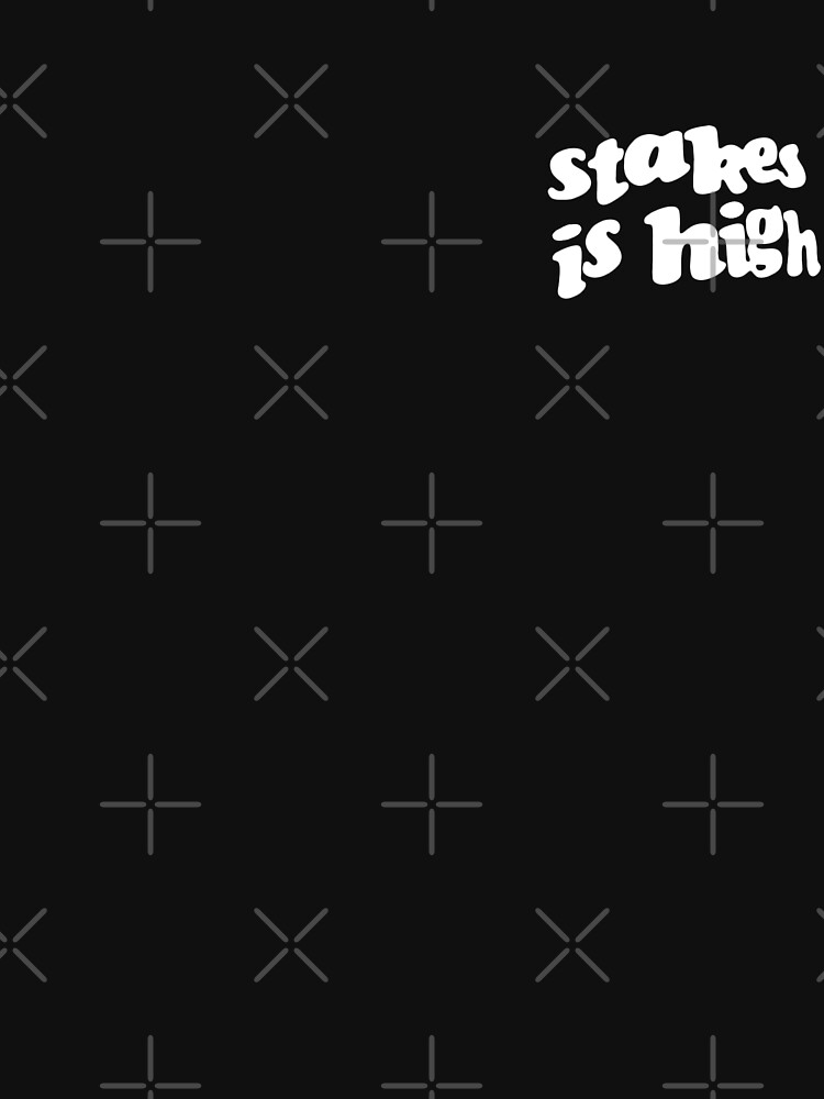 Stakes is High - De La Soul replica tour shirt by TheJBeez