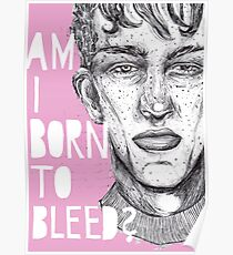 AM I BORN TO BLEED? Poster