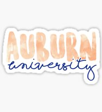 Auburn University Sticker