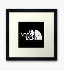The Norse Men  Framed Print