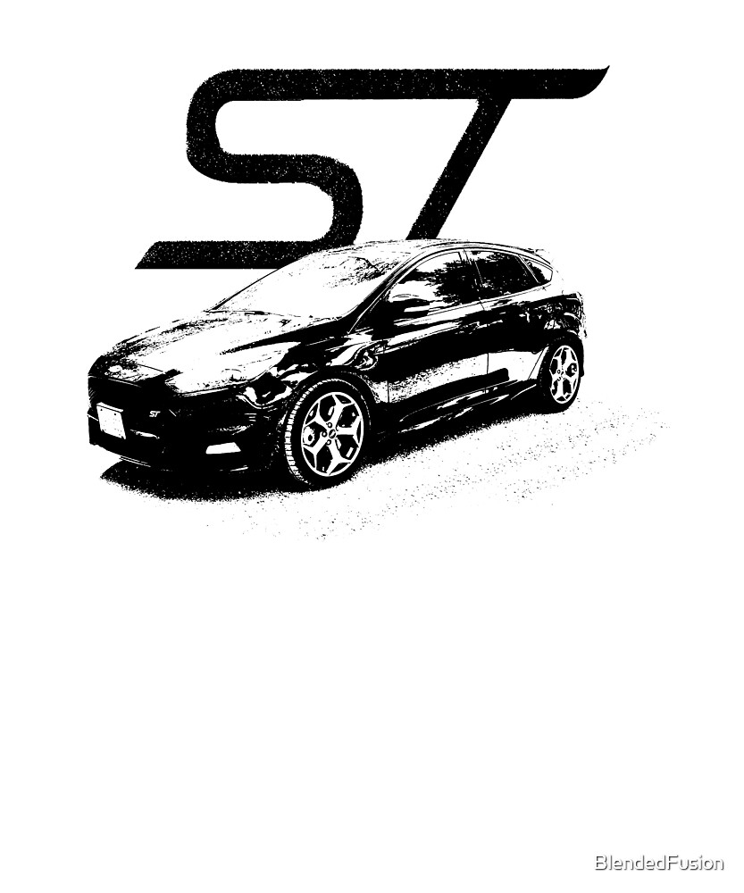 Focus ST - Wear your Passion by BlendedFusion
