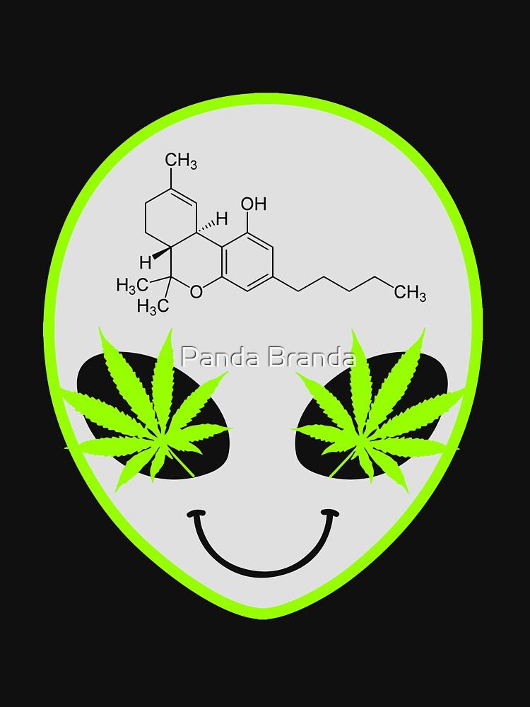 Alien Weed Art Design by CrusaderStore